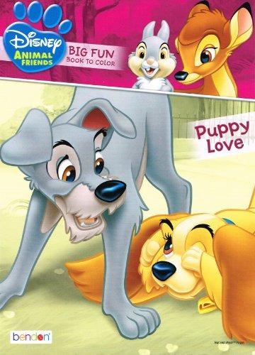 disney animal amigos ~ gran libro divertido colorear ~ puppy