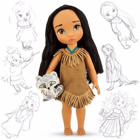 disney animators muñeca pocahontas jugueteria bunny toys