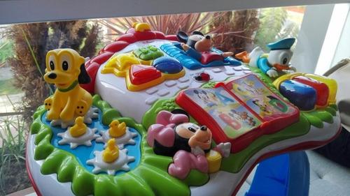 disney baby mesa de actividades mickey mouse - clementoni