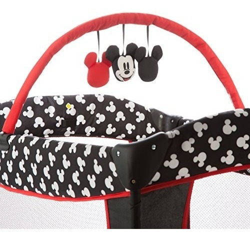disney baby sweet mickey silhouette cuna corral moises bebe