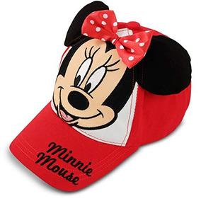 0823a8cea Disney Bebé Niña Minnie Mouse Gorra De Béisbol De Algodón De