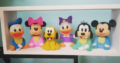 disney bebés para torta! mickey minnie pluto donald etc!