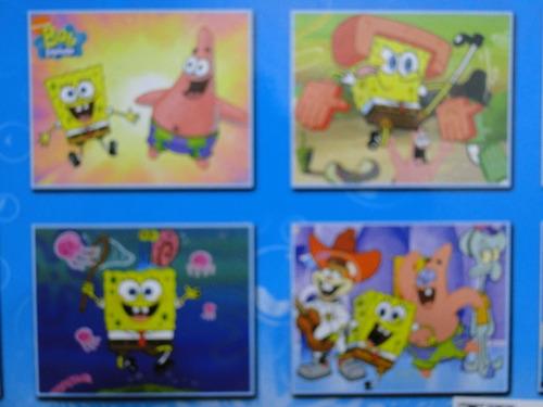 disney bob esponja  spongebob squarepants  bonecos play set