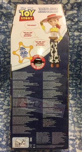 disney boneca jessie vaqueira toy story 38cm fala ingles