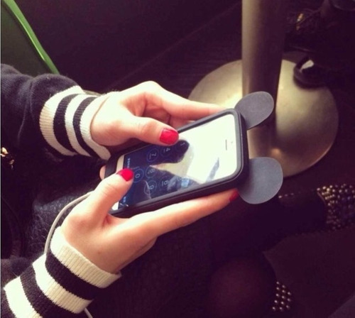 disney bumper iphone 5/se/6/6plus mickey mouse disneyland