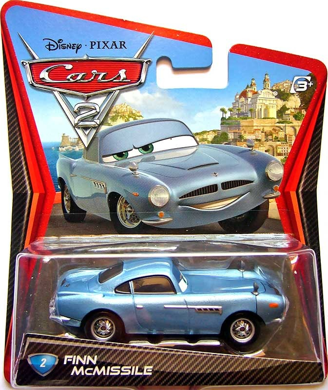 Cars 2 Spy Attack Finn Mcmissile: Disney Cars 2 Finn Mcmissile Mattel Lacrado Mcqueen Holley