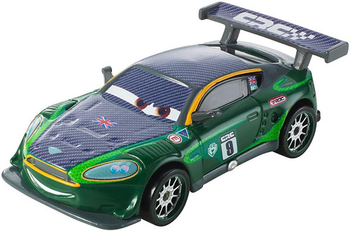 disney cars 2 nigel gearsley carbon racers mattel