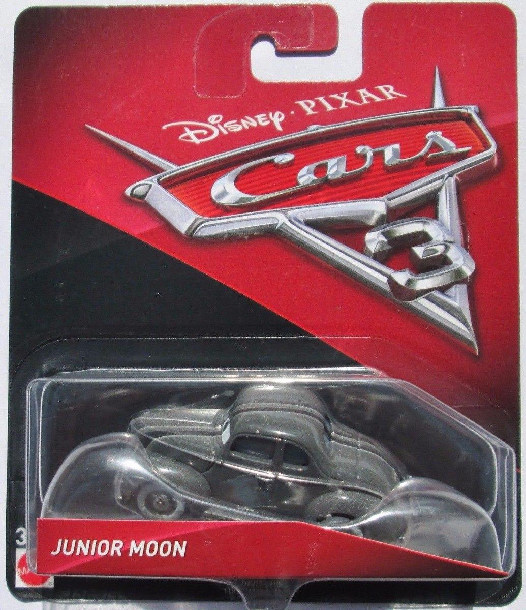 Disney Cars 3 Junior Moon Diecast Mattel 2018