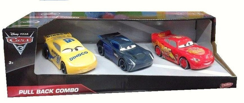 disney cars 3 set x 3 autos -  licencia - fair play toys