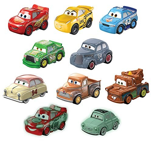 Pixar Cars 4 10 Disney Vehículo Unidades Coche Mult Juguete N0w8Onvm