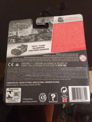 disney cars rayo mcqueen edición especial