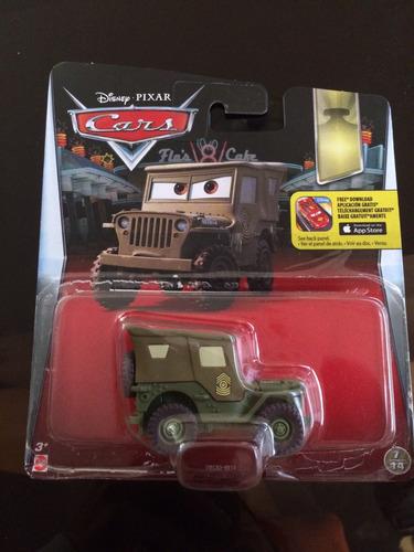 disney cars sargento nuevo coleccionable