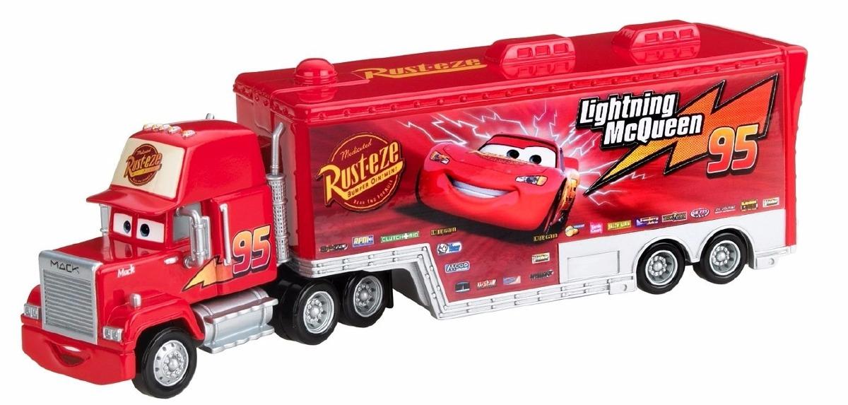 Disney Cars Trailer Mack Hauler 2017 Mattel - $ 749.00 en Mercado Libre