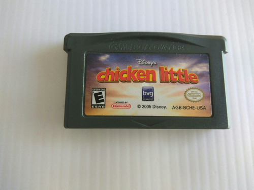 disney chicken little nintendo gba
