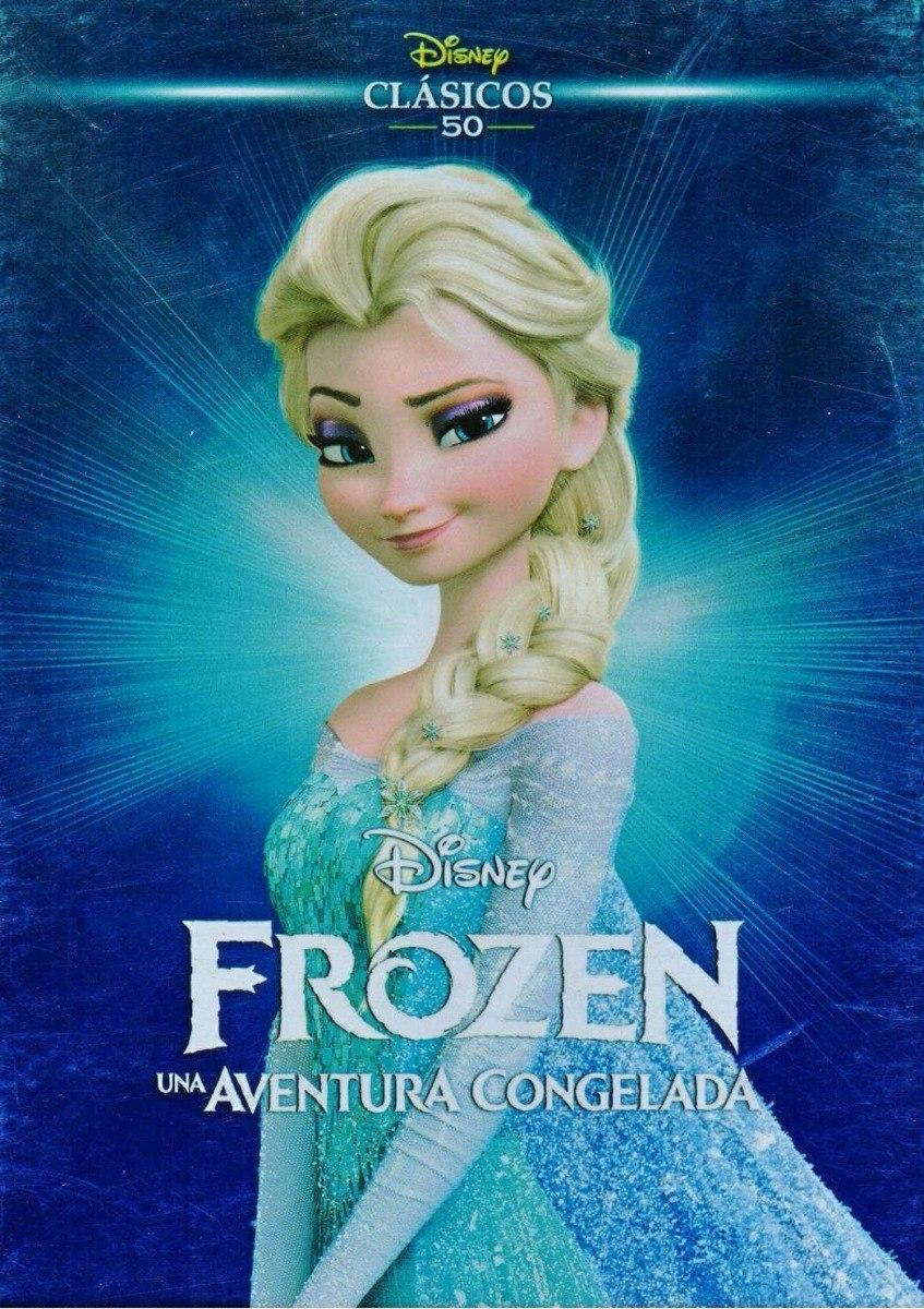 Disney Clasicos Frozen Una Aventura Congelada Pelicula Dvd ...