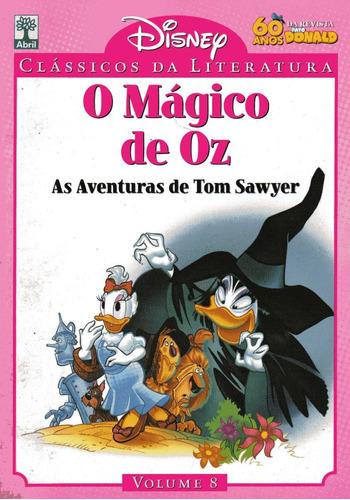 disney clássicos da literatura nº 8 o mágico de óz