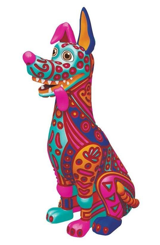 Disney Coco La Película Dante Alebrije Para Colorear S 9900 En