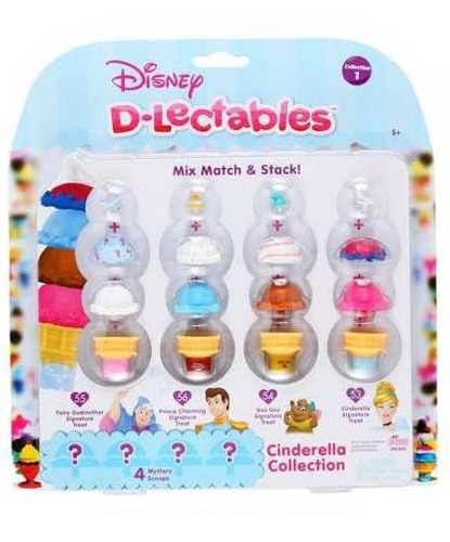 disney d- lectables coleccion princesas blister 20 piezas