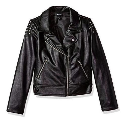 disney d-signed girls  big descendants studded moto jacket