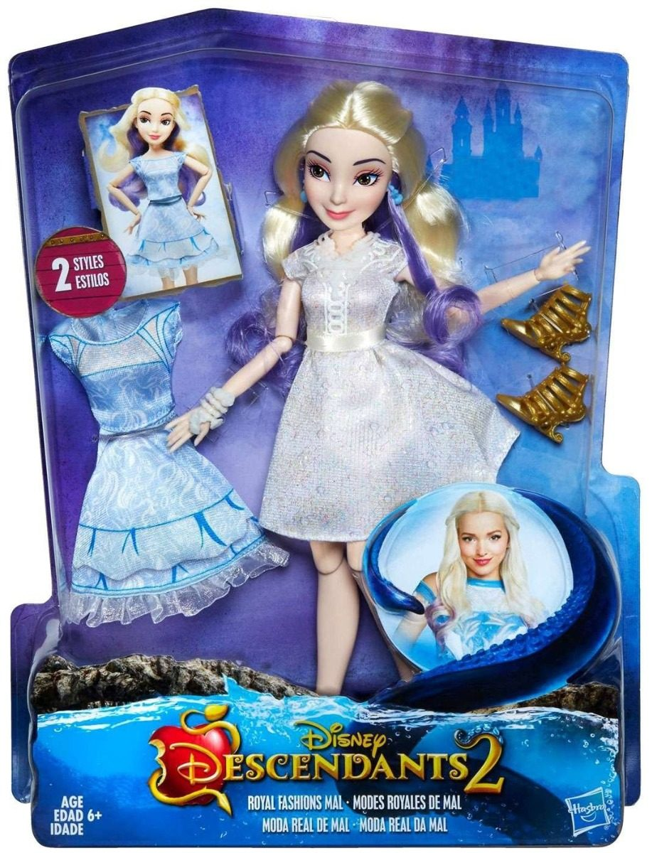 Disney Descendientes 2 Mu 241 Eca Mal Royal Fashion Hasbro
