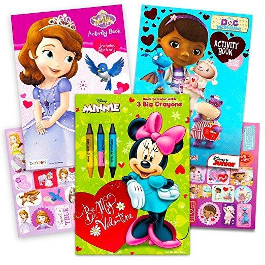 Disney Día De San Valentín Para Colorear Libros Súper Serie ...