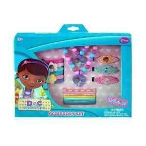 disney doc mcstuffins chicas 15 piezas de joyería y accesor