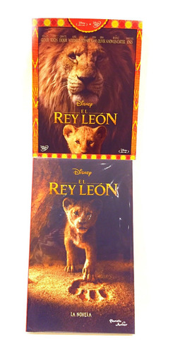 disney el rey leon bluray + dvd + libro oficial nuevo