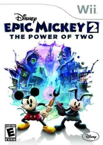 disney epic mickey 2: el poder de dos - nintendo wii!