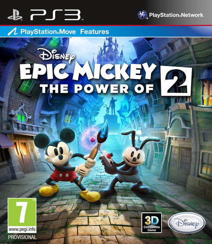 disney epic mickey 2 the power of two ps3 psn midia digital