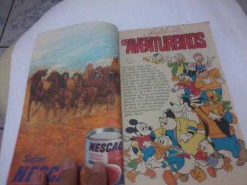 disney especial nº 6 os aventureiros - reedição agosto 1981