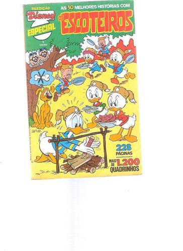 disney especial reedição 9 - os escoteiros - 1981