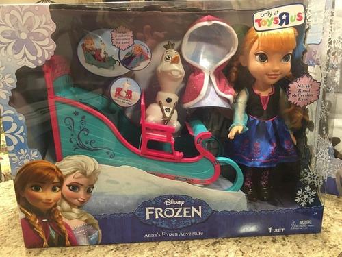 disney frozen anna olaf and sleigh nuevo