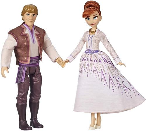 disney frozen ii set muñecos anna & kristoff juguete niñas