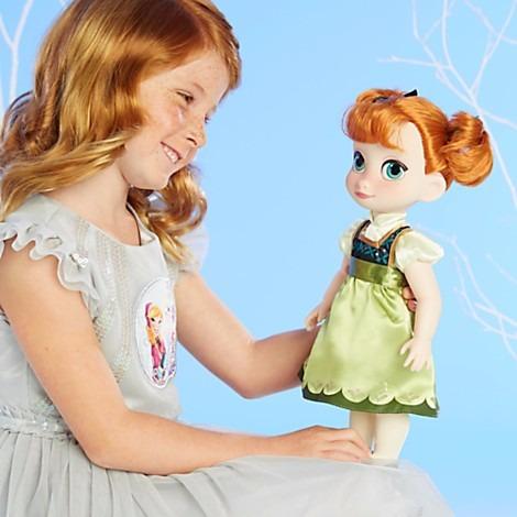 disney frozen muñeca princesa anna ana animators original