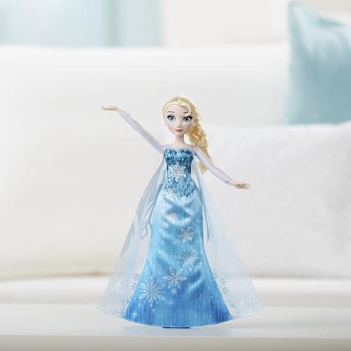 disney frozen play-a-melody gown original hasbro