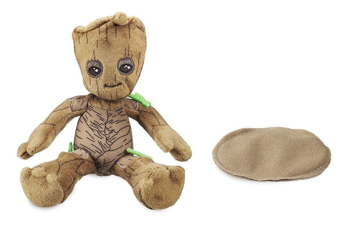 Guardians of the Galaxy Baby Groot Plush w//Magnet Sits On Shoulder Marvel Disney