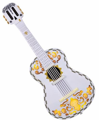 disney guitarra de coco interactiva pixar luz sonido mattel