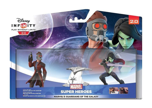 disney infinity 2.0 guardiões da galáxia playset marvel