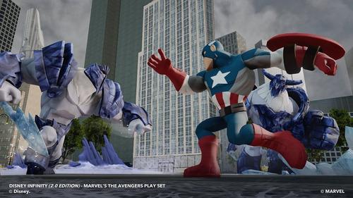 disney infinity 2.0 marvel captain america - capitão américa