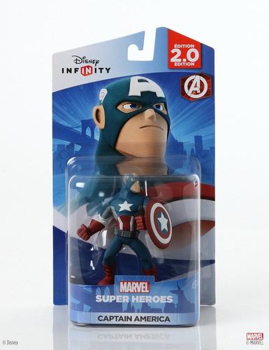 disney infinity 2.0: marvel super heroes - capitão américa