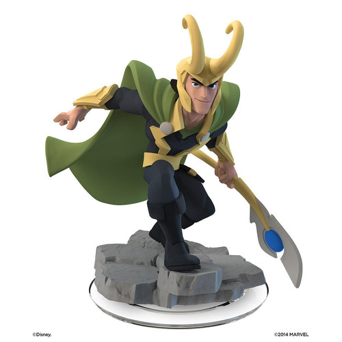 disney infinity 2.0 - marvel super heroes - loki