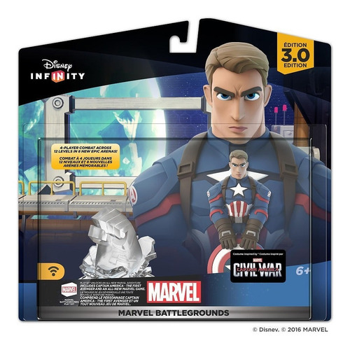 disney infinity 3.0 marvel battlegrounds play set capitão