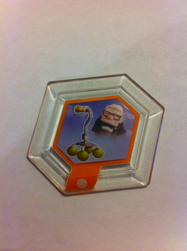 disney infinity - juguete baston de carl fredricksen