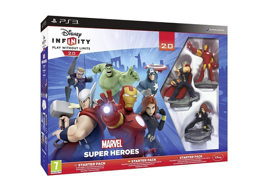 disney infinity  marvel super heroes ps3