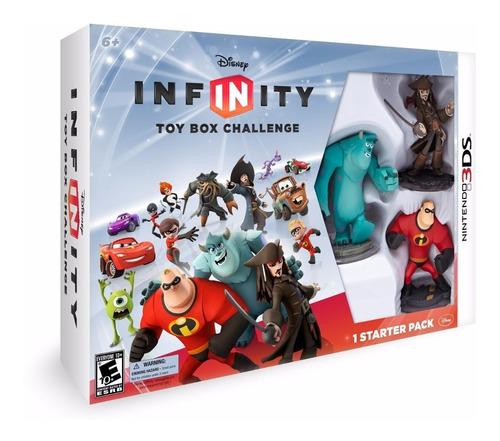 disney infinity toy box challenge  nintendo 3ds