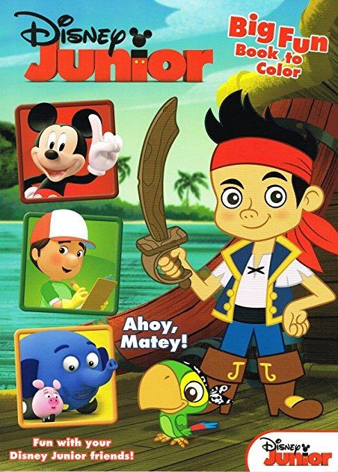 Disney Jake Y El Colorante Y El Libro De Actividades Set Nev ...