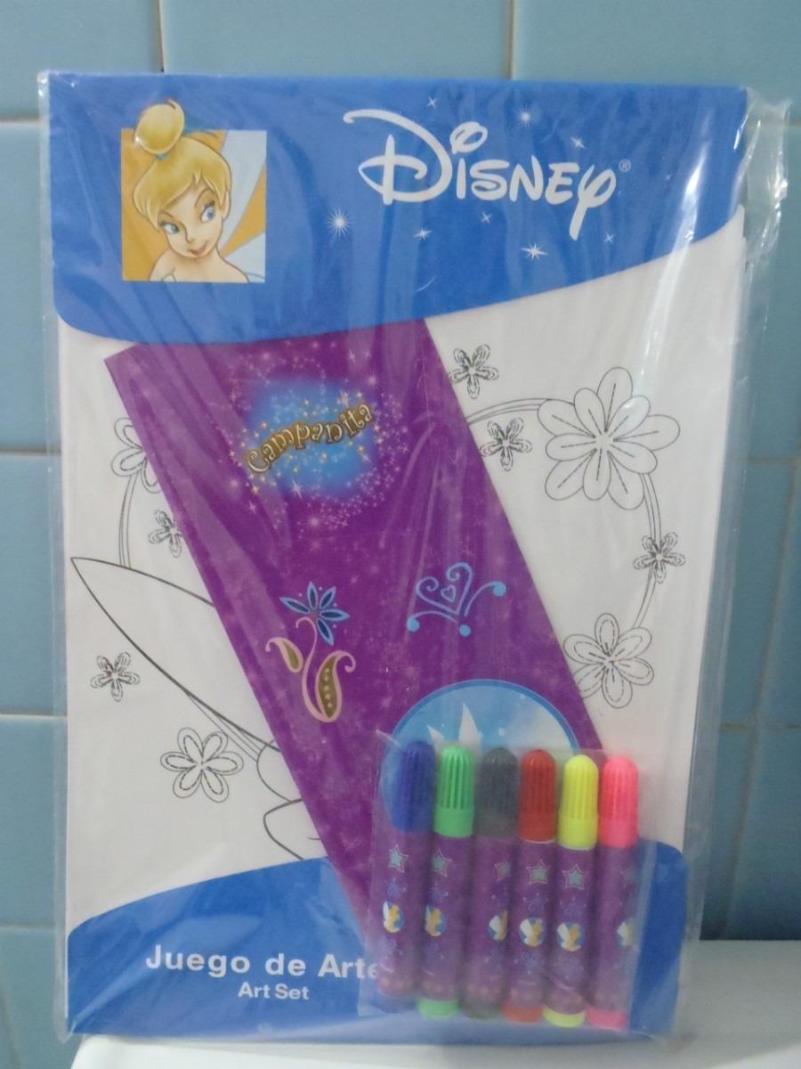 Disney Juego De Arte De Campanita Hojas Para Colorear Nvb - $ 30.00 ...