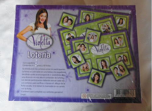 disney juego de loteria violetta!!