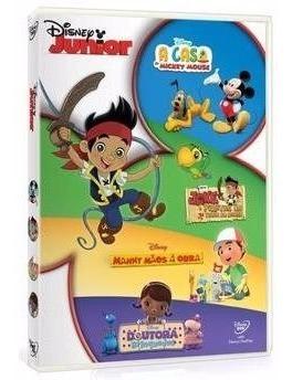 disney junior - box com 4 dvds - original - 15 episódios