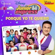 disney junior express topa - porque yo te quiero (cd)